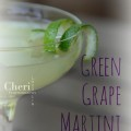 Green Grape Martini: Three Olives Grape Vodka, Melon Liqueur, Pineapple Juice