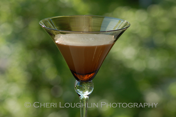 Chocolate Diamond Martini - recipe courtesy Three-O Vodka - photo by Cheri Loughlin, The Intoxicologist