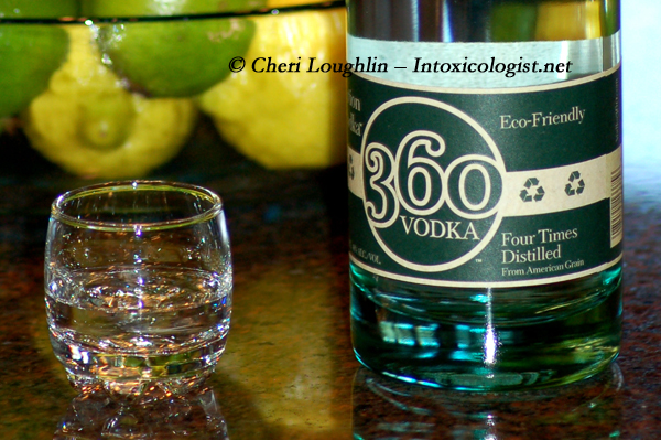 360 Vodka Tasting - photo copyright Cheri Loughlin