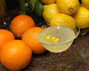 Lemon Sorbet Cocktail - photo copyright Cheri Loughlin
