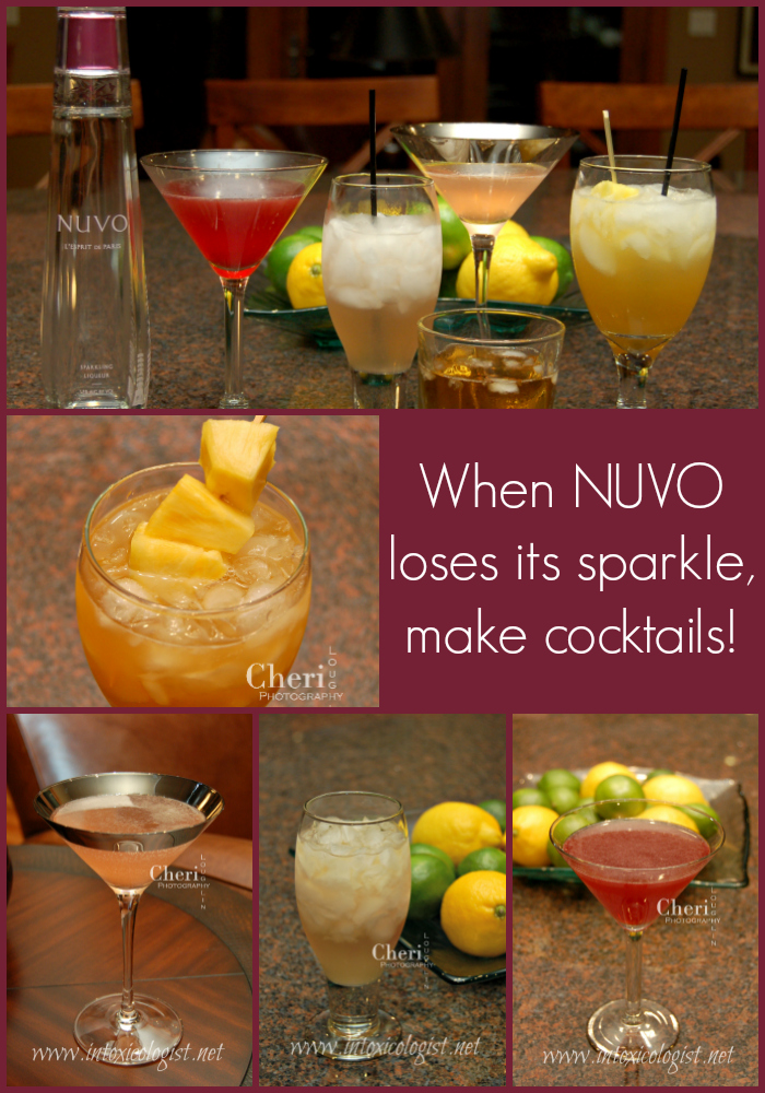 When NUVO Sparkling Liqueur goes flat it also loses a considerable amount of flavor. So let's talk gin, rum, vodka and tequila to build the flavor back up to fabulous.
