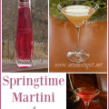 Springtime calls for lighter cocktails with fruitier flavors of the season. A little bubbly tickle to the nose is wonderful, too. NUVO Sparkling Liqueur shared two Springtime Martinis with me.
