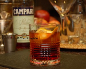 Cinnabar Negroni created by Jason MacDonald - photo copyright Cheri Loughlin