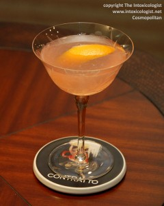 Cosmopolitan Dale DeGroff Original recipe - photo copyright Cheri Loughlin
