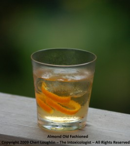 Almond Old Fashioned - Oro Tequila classic - photo copyright Cheri Loughlin