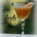 Deadly Sin Classic Cocktail perfect for Halloween