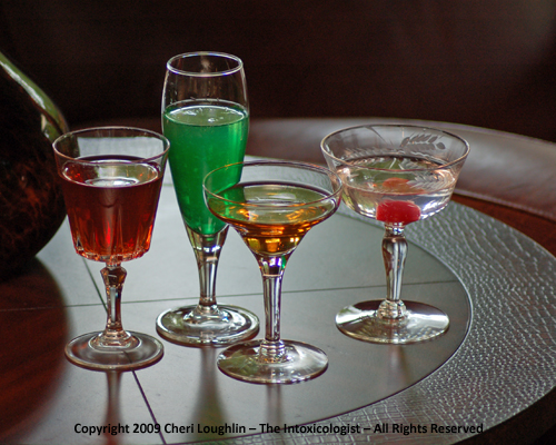 Poker themed drink recipes
