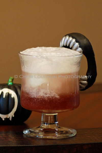 Shape Shifter Twilight Mocktail {recipe and photo credit: Mixologist Cheri Loughlin, The Intoxicologist}