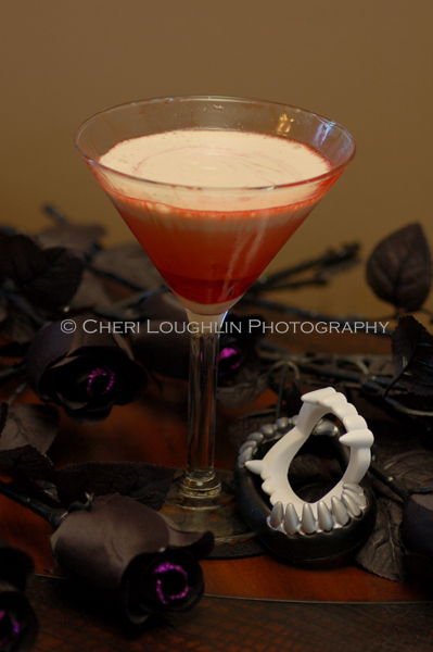 Vampire Isle Twilight Mocktail {recipe and photo credit: Mixologist Cheri Loughlin, The Intoxicologist}