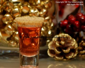 Hot Apple Pie Shot - created by Cheri Loughlin photo copyright Cheri Loughlin