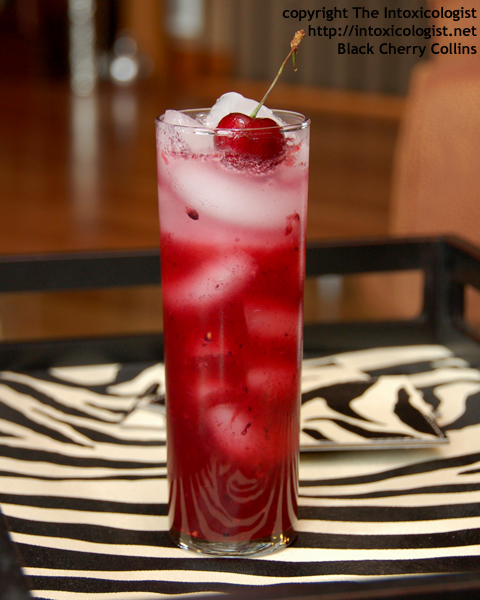 Black Cherry Collins - created by Cheri Loughlin - photo copyright Cheri Loughlin