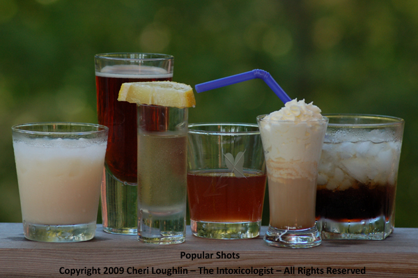 Top 10 popular shot shooter recipes the intoxicologist for Most common drink recipes