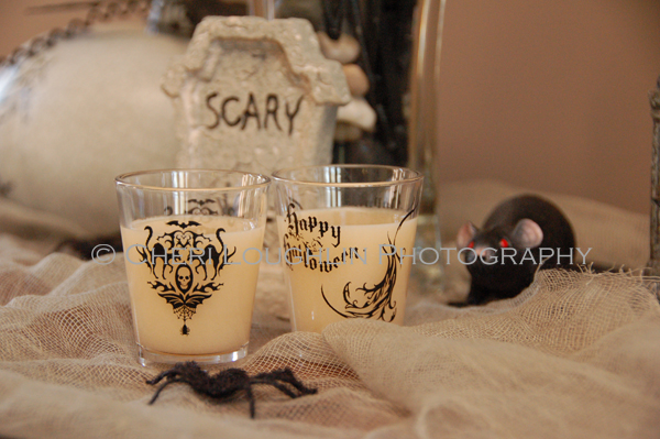 Halloween Horror Movie Shots - Ghostbusters {photo credit: Mixologist Cheri Loughlin, The Intoxicologist}