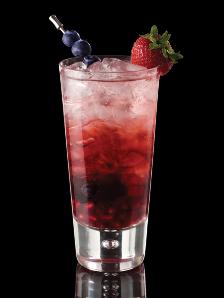 Berry Merry Christmas {photo courtesy Right Gin representatives}