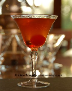 Boardwalk Manhattan with Canadian Club adapted by Cheri Loughlin - The Intoxicologist