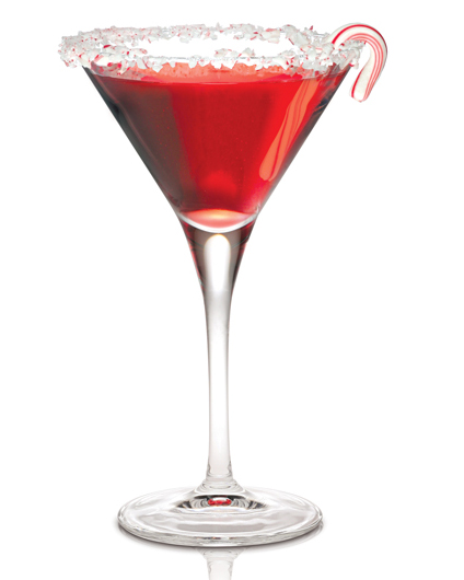 Candy Cane Swirl {photo courtesy Campari America}