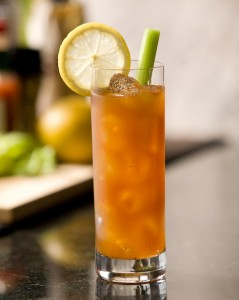 """The """"morning after..."""" calls for a Morning After Bloody Mary! Make a Cry Me a River morning after Bloody Mary and call me in time for the next Happy Hour! Photo and recipe provided by representatives of OVAL Vodka for use on The Intoxicologist site"""