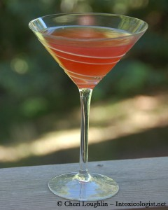 Italian Cosmo - adapted by Cheri Loughlin - photo property Cheri Loughlin - The Intoxicologist