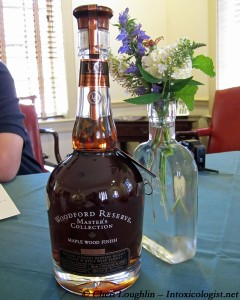 Woodford Reserve Master's Collection Maple Finish - photo property of Cheri Loughlin