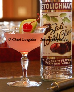 Stoli Wild Cherri Cosmo photo copyright Cheri Loughlin