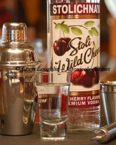 Stoli Wild Cherri Tasted Neat photo copyright Cheri Loughlin