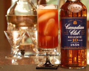 Tea-Totaller Teaser with Canadian Club created by Cheri Loughlin - The Intoxicologist