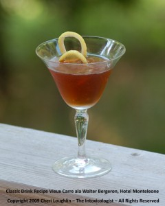 Vieux Carre - photo copyright Cheri Loughlin