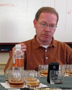 Woodford Reserve Bourbon Master Distiller Chris Morris at Tasting Session - photo property of Cheri Loughlin