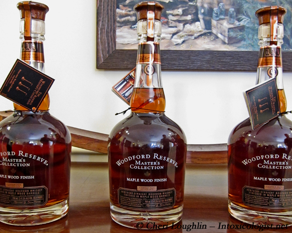 Woodford Reserve Masters Collection Maple Wood Finish - photo property of Cheri Loughlin