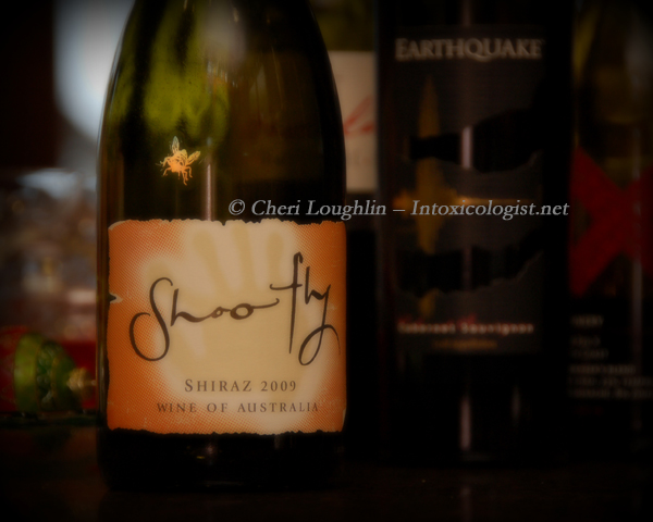 Shoofly Shiraz Wine photo copyright Cheri Loughlin