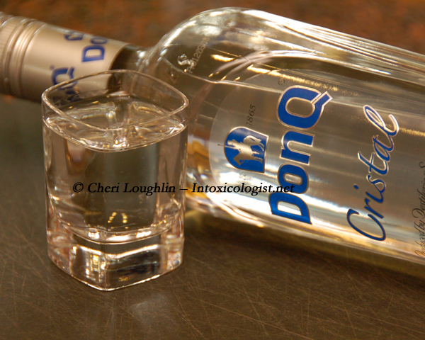 DonQ Cristal Rum Tasted Neat photo copyright Cheri Loughlin