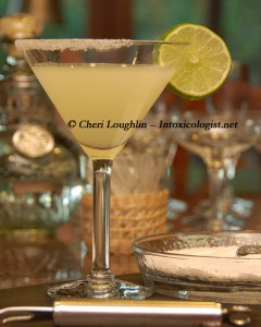 Simple Margarita - National Margarita Day - photo property Cheri Loughlin