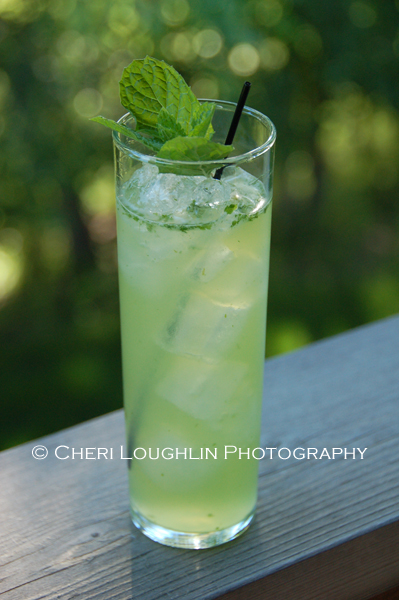 An ultimate summer drink; the Ultimate Mojito. The taste is fresh, the flavors layer exquisitely.