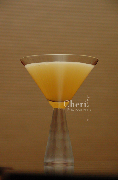 Blooming Jasmine - Cruzan Mango Rum, Light Rum, Jasmine Tea, Elderflower Liqueur, Sparking Sake or Champagne optional