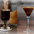 Cuppa Joe Martini and Hot Cuppa Joe recipe variations for year round enjoyment. Vodka, Hazelnut, Espresso.