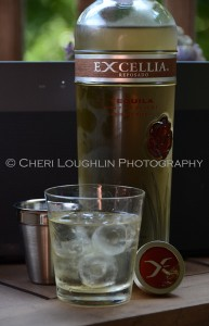 Excellia Tequila Reposado Bottle w On the Rocks - photo copyright Cheri Loughlin