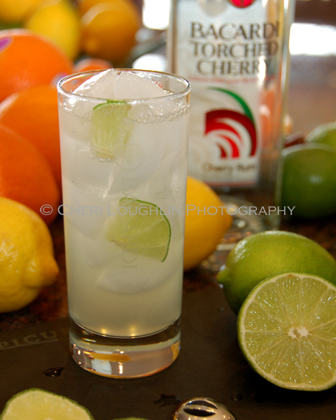 Torched Cherry Limeade created by Cheri Loughlin - photo copyright Cheri Loughlin