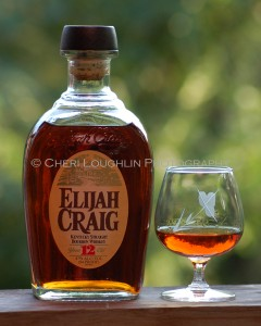 Elijah Craig 12 Year Bourbon - photo copyright Cheri Loughlin