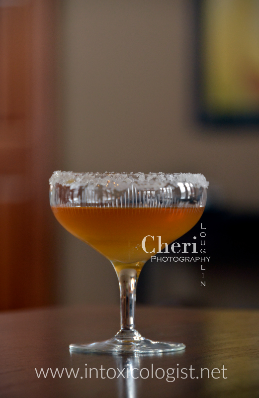 The Brandy Sidecar is citrusy with tones of rich dark spirit weaved throughout. The finish reminds me of marshmallow softness with subtle vanilla wisps.