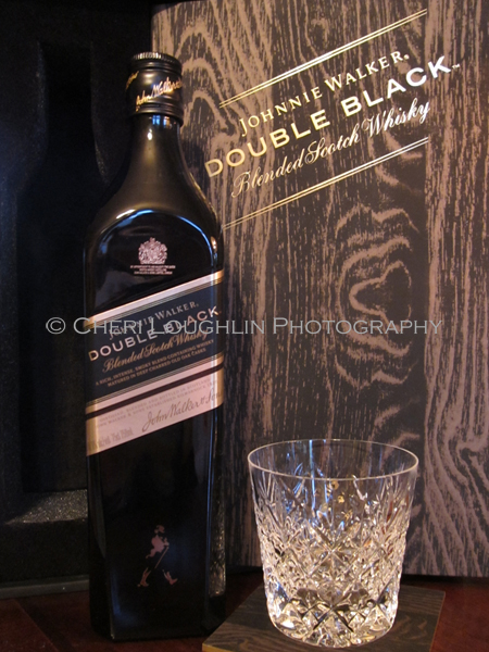 Johnnie Walker Double Black with Glass - photo copyright Cheri Loughlin