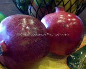 Pomegranate - photo copyright Cheri Loughlin