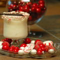 Minted Snowfall is a cool, refreshing creamy holiday drink with peppermint, chocolate and espresso flavors laced throughout the drink. {recipe and photo credit: Mixologist Cheri Loughlin, The Intoxicologist}