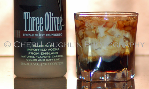 Three Olives Espresso White Russian photo copyright Cheri Loughlin