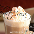 Easy Mayan Hot Cocoa with cinnamon and cayenne pepper.