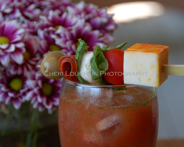 Bloody Mary with Garnish photo copyright Cheri Loughlin