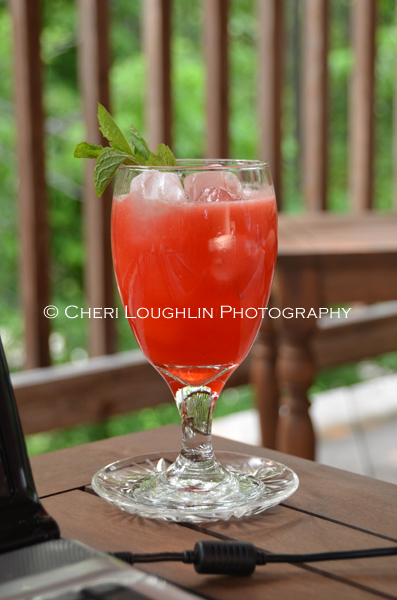 Watermelon Raspberry Mojito 7 Mocktail created by Cheri Loughlin photo copyright Cheri Loughlin