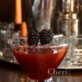 Berried Treasure - Camarena Tequila, blackberries, raspberry liqueur, agave syrup, lemon juice