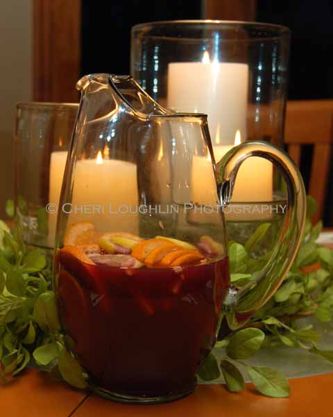 Sangria Faux You Pitcher - photo copyright Cheri Loughlin