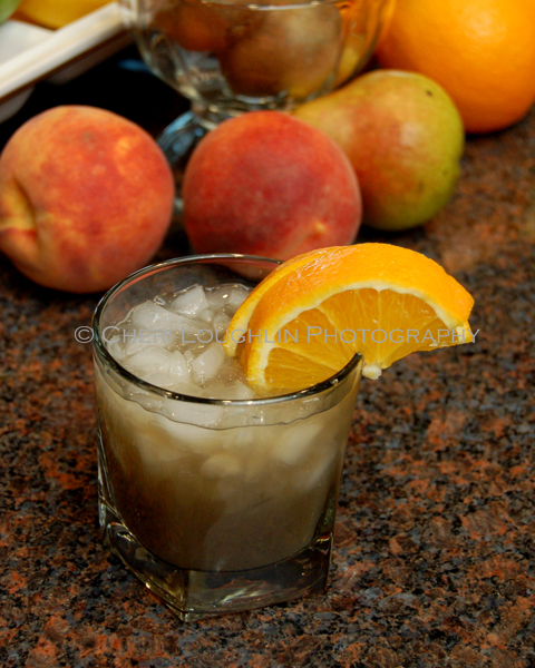 Beam of Passione - recipe and photo by Mixologist Cheri Loughlin, The Intoxicologist