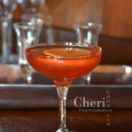 Skinny Cranberry Cordial low calorie cocktail with Camarena Tequila - recipe and photo credit: Mixologist Cheri Loughlin, The Intoxicologist
